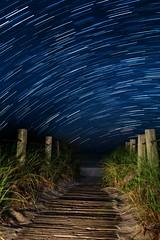 Beach Access. 2018 (Aztravelgrl (Forgotten Places Photography)) Tags: florida keywest usa longexposure lowlight nightphotography startrails canon5dmarkiv irix15mm sliktripod beachwalkway beach night
