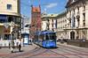 R2-Wagen 2137 an der Haltestelle Stachus Nord (Frederik Buchleitner) Tags: 2137 linie28 munich münchen r2wagen redesign strasenbahn streetcar tram trambahn