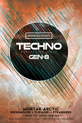 TECHNO GENERATION 8 (movingclays) Tags: adobe artist beatport colors dance dj dubstep edm electro festival flyer futuristic graphic guest house indie instagram itunes millennial model modern neon nightclub party psd rock soundcloud speaker techno template