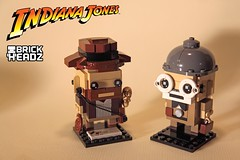 Indiana Jones BrickHeadz + Henry Jones