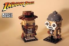 Indiana Jones BrickHeadz + Henry Jones