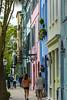 Sidewalk In Front of Rainbow Row (Eridony (Instagram: eridony_prime)) Tags: charleston charlestoncounty southcarolina southofbroad houses sidewalk