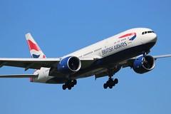 G-VIID Boeing 777-236ER British Airways (R.K.C. Photography) Tags: gviid boeing b777 777236er aircraft aviation airliners british britishairways ba baw speedbird london england unitedkingdom uk londonheathrowairport lhr egll canoneos100d
