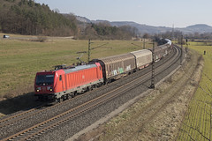 D DBC 187 114 Harrbach 24-02-2018 (peters452002) Tags: peters452002 bahn bayern harrbach lokomotive lokomotief locomotive duitsland spoor spoorwegen jalalspagestransportationalbum eisenbahn etrain elok railways railway railroad railroads rail trains train trein treinen twop transportation ferrovia clickcamera cargo
