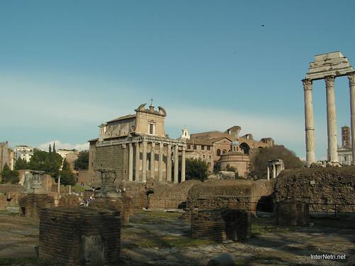 Римський форум, Рим, Італія InterNetri Italy 518