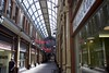 Hepworth's Arcade (brianarchie65) Tags: hepworthsarcade kingstonuponhull skylight shadows light sunrays passage unlimitedphotos flickrunofficial flickruk flickr flickrcentral ukflickr canoneos600d geotagged brianarchie65 cityofculture shops stalls reflections