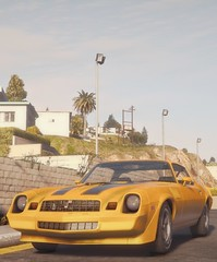 Z28 | GTA V (Stellasin) Tags: angeles gaming game beauty beautiful buildings blur car cars city clouds downtown engine weather reflection people flare fog graphics gtav gta grass hot highway photography sky los mods mountains motion road trees screenshot sun sunrise v water