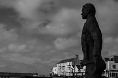 My-Space (Chris Hamilton Photography) Tags: street urban monochrome statue coastal essex walton seaside
