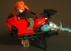 Ride The Lightning (hmick_) Tags: lego speeder bike