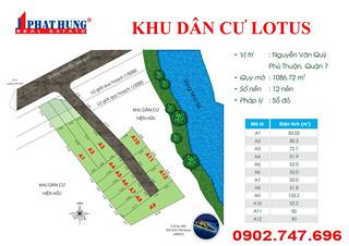 Cần bán đất sổ đỏ Mặt Tiền Nguyễn Văn Quỳ, Quận 7 giá chỉ 2.750 tỷ