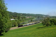 Radfrühling im Traisental (ES64U2 064) Tags: dampflok 77 ögeg traisen traisental radfrühling sonderzug steam train steamer traisentalbahn göblausbruck