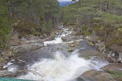 Falls In The Highlands (steve_whitmarsh) Tags: aberdeenshire scotland scottishhighlands water river waterfall bridge rocks longexposure hills mountain abigfave