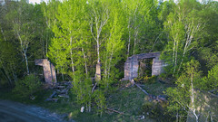Roundhouse (wellfedCanuck) Tags: depotharbour parryisland ruins railway roundhouse ghosttown