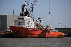 PUTFORD VOYAGER (Mike_47714) Tags: ship marine maritime vessel great yarmouth port river putford voyager 8421626 offshore supply