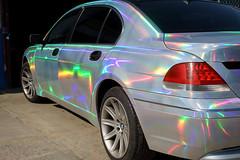Iridescence (dtanist) Tags: nyc newyork newyorkcity new york city sony a7 canon fd 50mm coney island brooklyn creek iridescence iridescent car paint vehicle