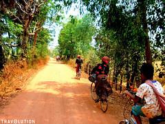 Koh Pen Island, Kampong Cham (Travolution360) Tags: cambodia bicycle nature trails island koh pen kampong cham mekong river holiday travel