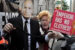 putin (greenelent) Tags: notrump protest demonstration riseandresist streets people activists nyc newyork