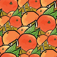 seamless pattern of oranges (Hebstreits) Tags: art backdrop background beautiful bright citrus color colorful decoration delicious design drawing fashion floral food fresh freshness fruit fruits health healthy illustration juice juicy modern natural nature orange oranges ornament pattern plant print ripe seamless slice smoothie summer sweet tasty texture tropical vector vintage vitamin wallpaper watercolor yellow