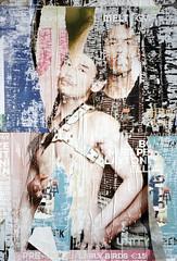 MELT (Florian Thein) Tags: berlin plakat poster portrait boys jungs gay melt kleber leim spuren traces gebrauch film analog 35mm kleinbild yashicat5 kodakgold