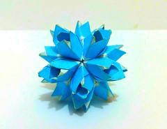 С днем рождения Джордж (Meeyho) Tags: origami origamipaper origamiflower paperfolding happybirthday kusudama mariasinayskaya aguessmodel unitorigami modularorigami kusudamaorigami goorigami