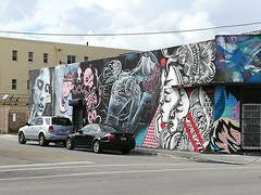 Some amazing art near Wynwood Walls.