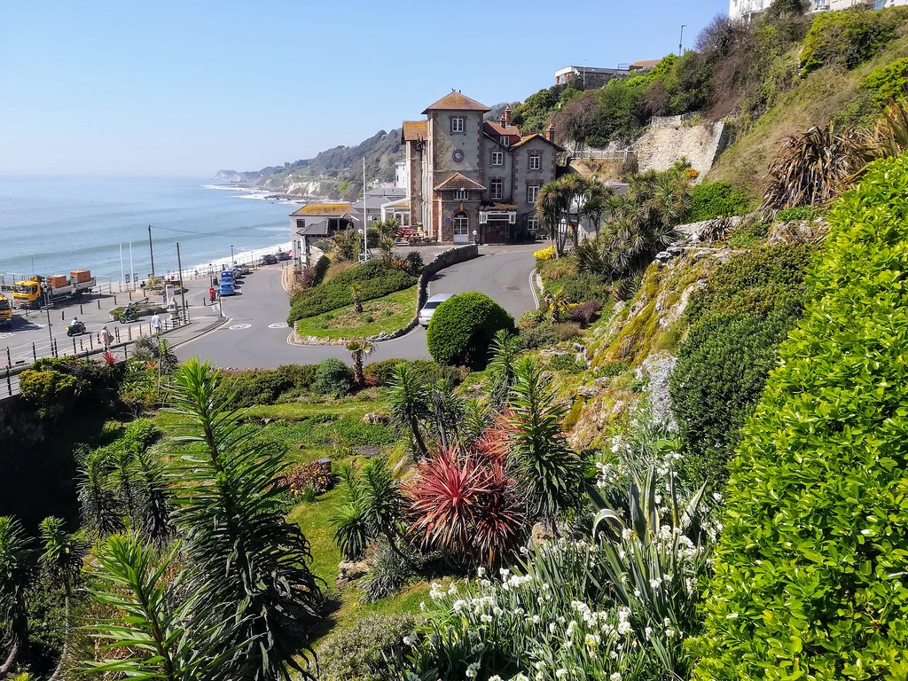 VENTNOR SEAFRONT. ISLE OF WIGHT. UK
