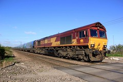 66054 - 477C - 2018-04-26 (BillyGoat75) Tags: class66 66054 dbcargo ews freight railway draxpowerstationimmingham robinsoncrossing southkillingholme northlincolnshire 477c