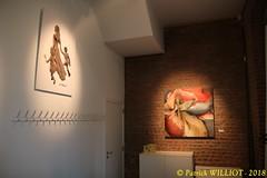 IMG_9404 (Patrick Williot) Tags: exposition vernissage ecuries sculpteur michal peintre genevieve nicolas