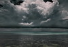 Murky Mood (louise peters) Tags: clouds rainclouds regenwolken sky wolken wolkenlucht seascape sea zee zeegezicht beach strand water rainyreason regenseizoen ocean oceaan indianocean indischeoceaan pingwe zanzibar tanzania africa