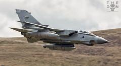 Tornado descending hard (The Don Photography) Tags: tornado gr4 marham raf royal air force tonka don photography aviation avgeek photographer canon 100400 zoom beast war wales british attack avporn