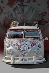 The Sweet Spots - 1966 VW Bus (Brad Harding Photography) Tags: volkswagen vw vwbus bus antique rustic camping vintage utility carshow weston volksweston volkswagenbus missouri patina 1966 66 hippie