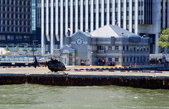 Manhattan heliport, New York City, USA. (Roly-sisaphus) Tags: nyc thebigapple unitedstatesofamerica