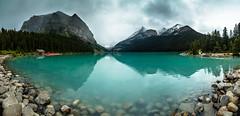 DSC_3058 (Rinathq) Tags: lakelouise alberta travelalberta travel canada calgary panaroma wideangle 2018 landscape nikon iamnikon tokina lake mountains