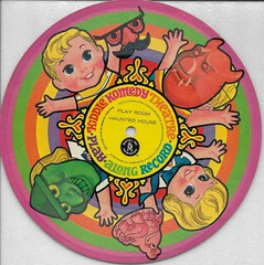 Kiddle Comedy Theatre Play Along Record ( Mattel 1968 ) (Donald Deveau) Tags: kiddles liddlekiddles mattel record paperrecord childrensrecords playalongrecord vintagetoy