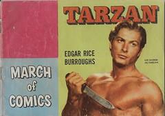 Boys And Girls March Of Comics No. 82 ( K.K. Publications 1952 ) (Donald Deveau) Tags: kkpublications marchofcomics lexbarker tarzan edgarriceburroughs comicbook
