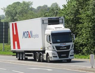 Moran logistics MV65 UFW at Gledrid services