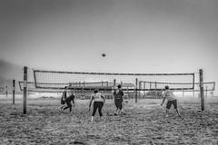 DSCF9830-Edit-Edit (carolea2014) Tags: blackwhite miad2 sand volleyball