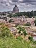 Un pezzo di città (ioriogiovanni10) Tags: seguimi fotografo roma vaticano città canon clouds cupola sanpietro rome capitale city