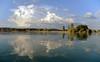 zeller see, mettnau (joachim.d.) Tags: bodensee mettnau natur vogelparadies naturschutz zellersee riet schilf spiegelung wolken