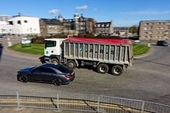 DSC06819 (LezFoto) Tags: sonydigitalcompactcamera rx100iii rx100m3 sony dscrx100m3 cybershot sonyimaging sonyrx100m3 compactcamera pointandshoot motionblur aberdeen scotland unitedkingdom lorry car