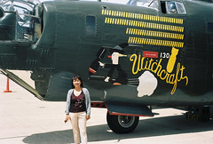 Leah (poavsek) Tags: army aircorp b24 film kodak portra ektar ii war world bomber