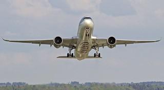 ZRH/LSZH: QatarAirways QR Airbus A350-941 A7-ALC