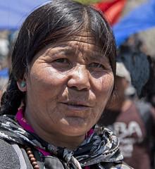 turquoise earring (bag_lady) Tags: ladakh hemissummerfestival hemis hemismonastery jammuandkashmir india turquoiseearring buddhism buddhist