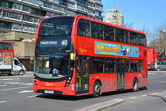 YY66 OYH (EH79) Go-Ahead London General (hotspur_star) Tags: londontransport londonbuses londonbus londonbuses2018 alexanderdennisltd enviro400hmmc tfl transportforlondon hybridbus hybridtechnology busscene2018 doubledeck goaheadlondongeneral yy66oyh eh79 40