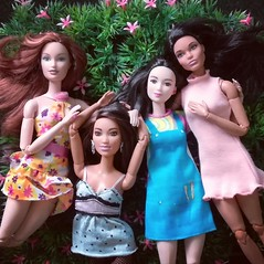 Sunday with Friends 💙 (Lo_zio87_Barbie Collector) Tags: madetomove male doll collector miko claudette gordon mold drew lara kasandra friends sunday