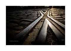 Track (Mark Lindstrom) Tags: docks leepolariser canon1635f4 canon5dmk3 closeup cobbles track kingstonuponhull mariner hull