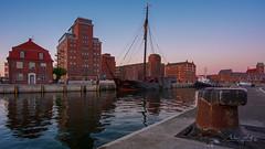 Hafen Hansestadt Wismar (Marko's_Art) Tags: hansestadt hafen mecklenburgvorpommern wismar wasser water harbor sonnenuntergang sunset sea seaport
