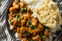 Homemade Indian Butter Chicken with Rice (brent.hofacker) Tags: asia asian background basmati bowl butter butterchicken chicken chili cilantro cooking coriander cuisine curry dinner dish food garam garnish gravy hot india indian kadai korma lunch masala meal meat naan restaurant rice roti sauce spicy tandoori tikka tomato traditional