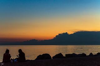 Tramonto su Trieste e momenti di relax