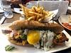Jersey City - Piggyback Bar: Pork Belly Banh Mi (wallyg) Tags: porkbellybanhmi piggybackbar exchangeplace jerseycity sandwich foodporn banhmi frenchfries egg harborsidefinancialcenter restaurant harborside newjersey